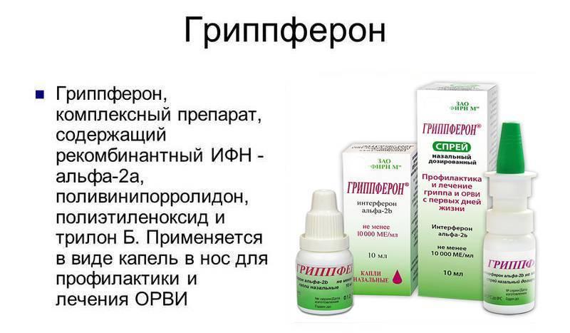 Свечи гриппферон для детей инструкция - стопболезнь