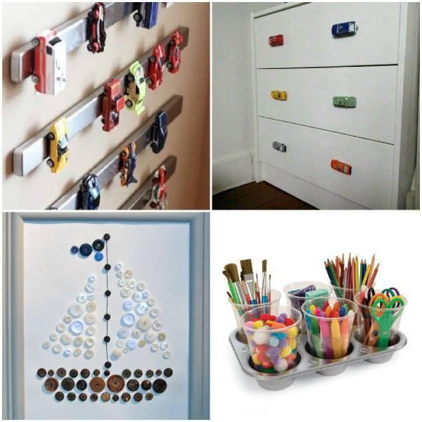 Как украсить детскую комнату своими руками?