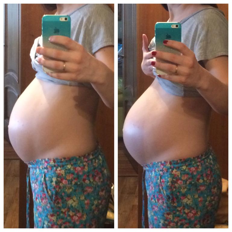 За сколько до родов опускается живот? за сколько дней или недель у первородящих и при второй беременности - повторнородящих