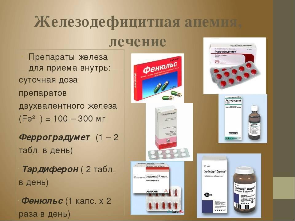 Препараты железа для детей для лечения анемии и дефицита микроэлемента