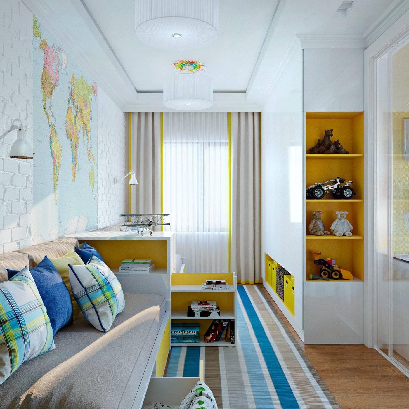 Детская 11 кв м: комната для подростка, для двоих, примеры дизайна интерьера