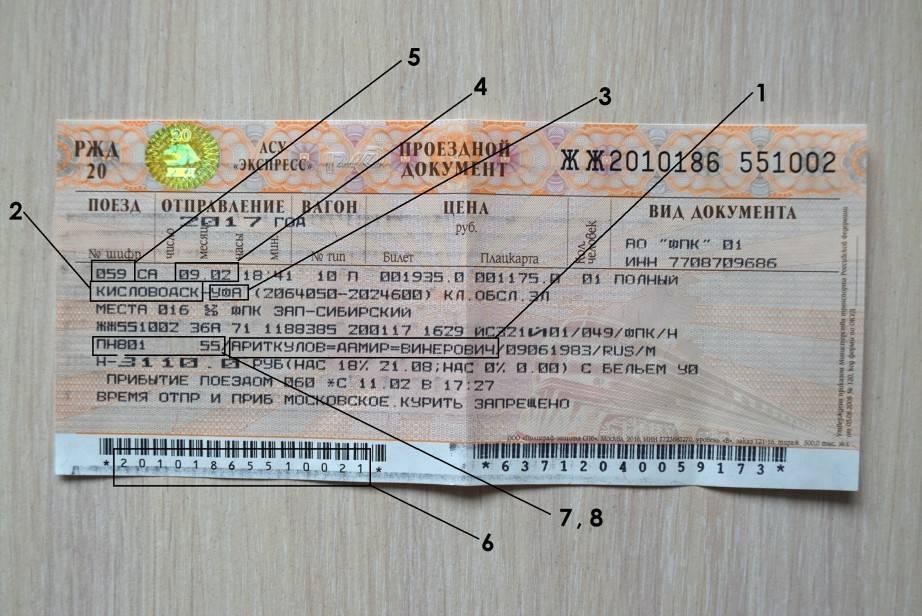 До скольки лет действителен детский билет ржд