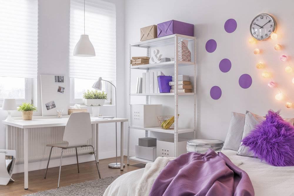 Комната для девочки подростка: современные идеи стильного дизайна