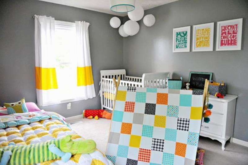 Интерьер детской комнаты. 100 фото и идей