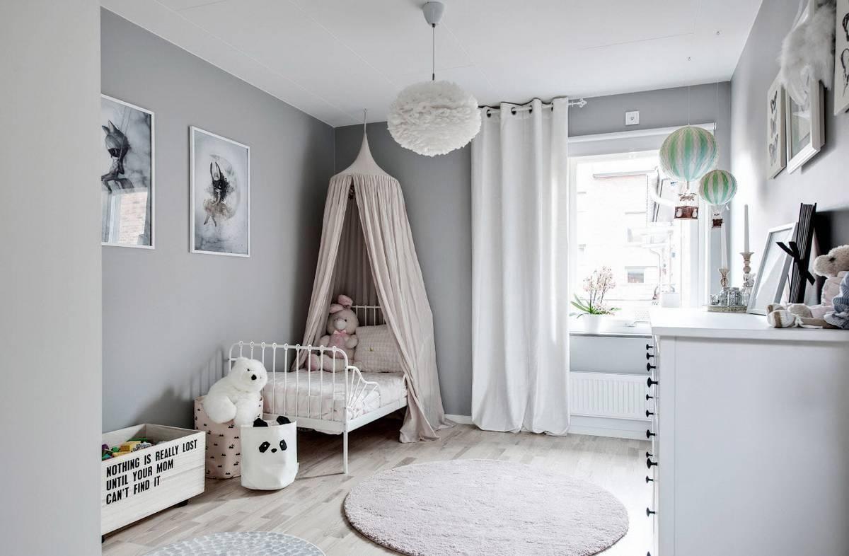 Детская в скандинавском стиле – гид по дизайну и ремонту