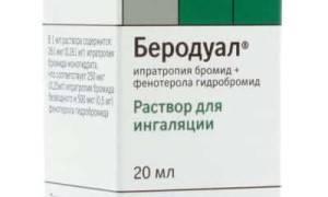 Беродуал - инструкция по применению раствора для ингаляций, дозировка для детей и взрослых