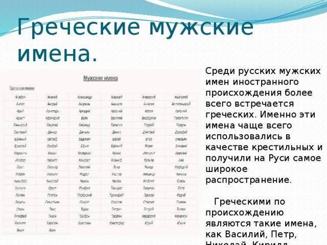 Список самых редких русских женских и мужских имен