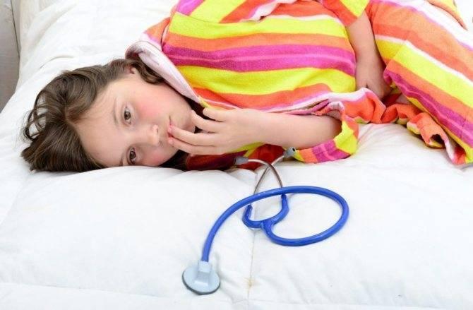 Что делать, если у ребенка понос, рвота и температура