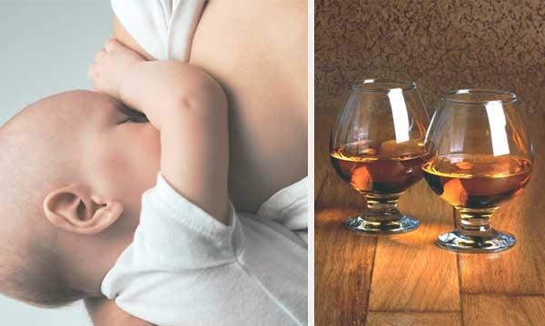 Можно ли вино при грудном вскармливании: влияние красного и белого вина, безалкогольного пива на качество молока, ребенка