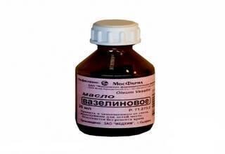 Вазелиновое масло - применение для детей и взрослых