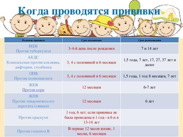 Вторая прививка акдс: как переносится, нормальная реакция, через сколько дней делают