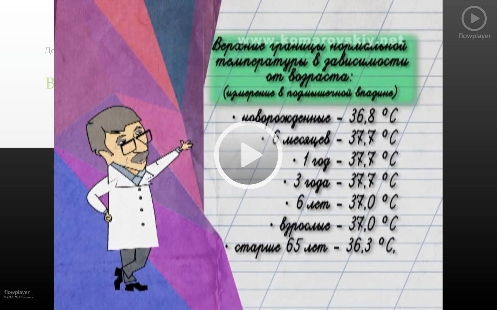 Сколько должна быть температура у новорожденного ребенка до 1 месяца