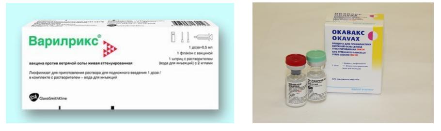 Прививка от ветряной оспы (ветрянки)