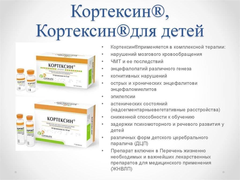 Для чего назначают уколы кортексин в ампулах 10 мл — инструкция по применению