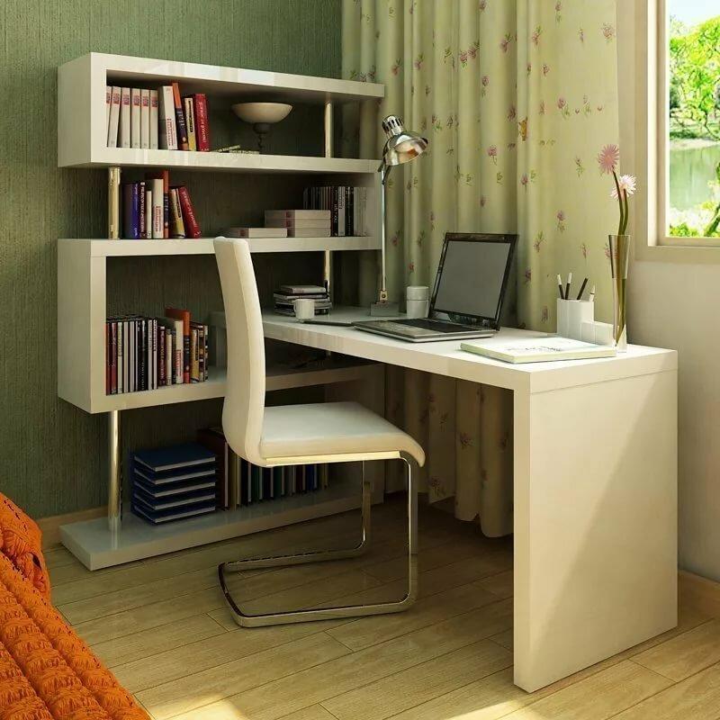 Письменный стол (58 фото): большая рабочая конструкция для дома и узкие стеклянные дизайнерские стильные изделия, особенности размещения у окна