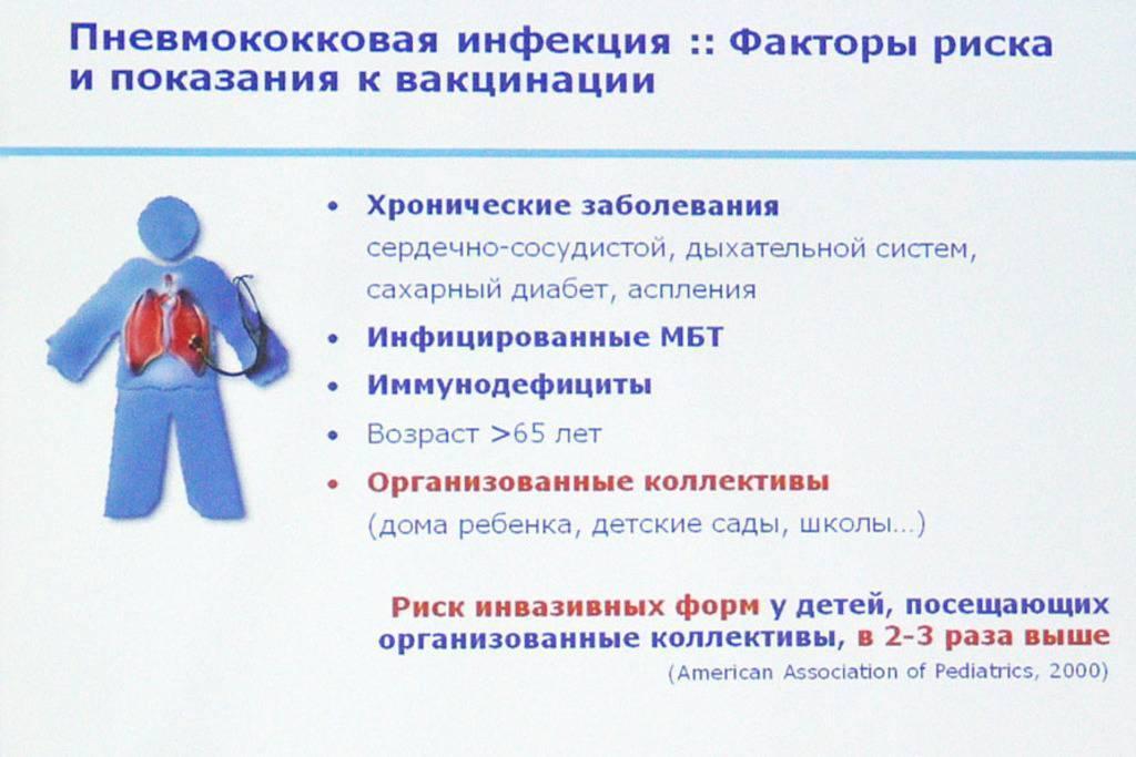 Пневмококковая инфекция - вакцинация. прививка от пневмококковой инфекции детям - отзывы
