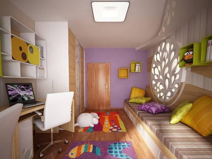 Дизайн маленькой детской для мальчика или девочки: 70 современных фото и идей