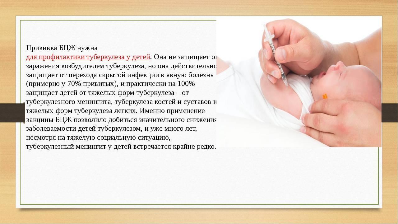 Прививка от туберкулеза новорожденным - как называется, сколько действует, какие реакции вызывает? | прививки | vpolozhenii.com