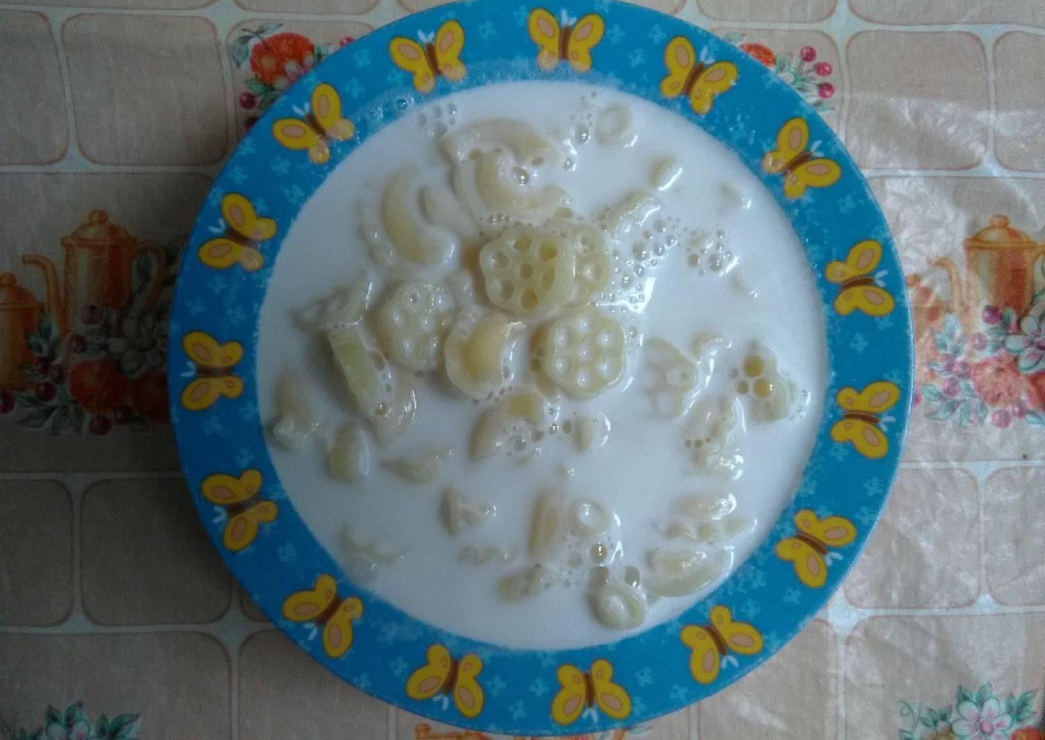 Молочная лапша пропорции молока и лапши. молочный суп с вермишелью для ребенка: полезные свойства, правила введения в рацион, рецепты