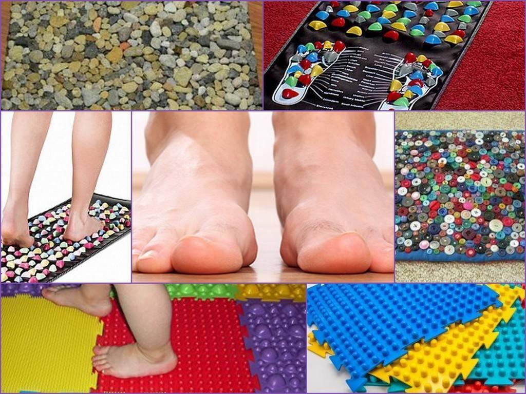 Массажный коврик своими руками для взрослых и детей