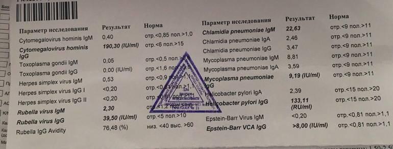 Антитела к краснухе норма, ответы врачей, консультация
