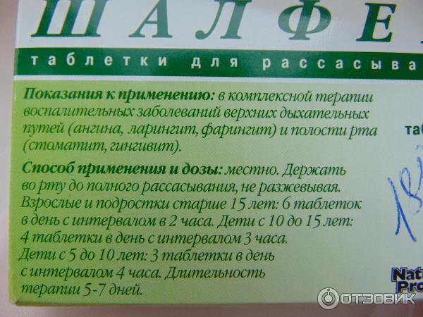 Леденцы шалфей при боли в горле и ангине: инструкция по применению pulmono.ru леденцы шалфей при боли в горле и ангине: инструкция по применению