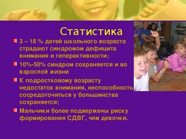 Синдром дефицита внимания и гиперактивности у детей: лечение и не только
