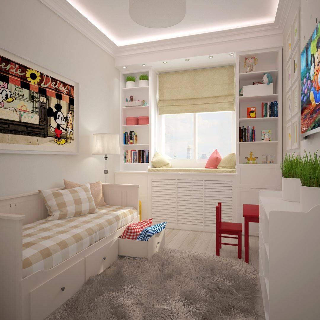 Детская 12 кв. м.: 130 фото дизайна спальни для детей и подростков   дизайн детской комнаты 12 кв м