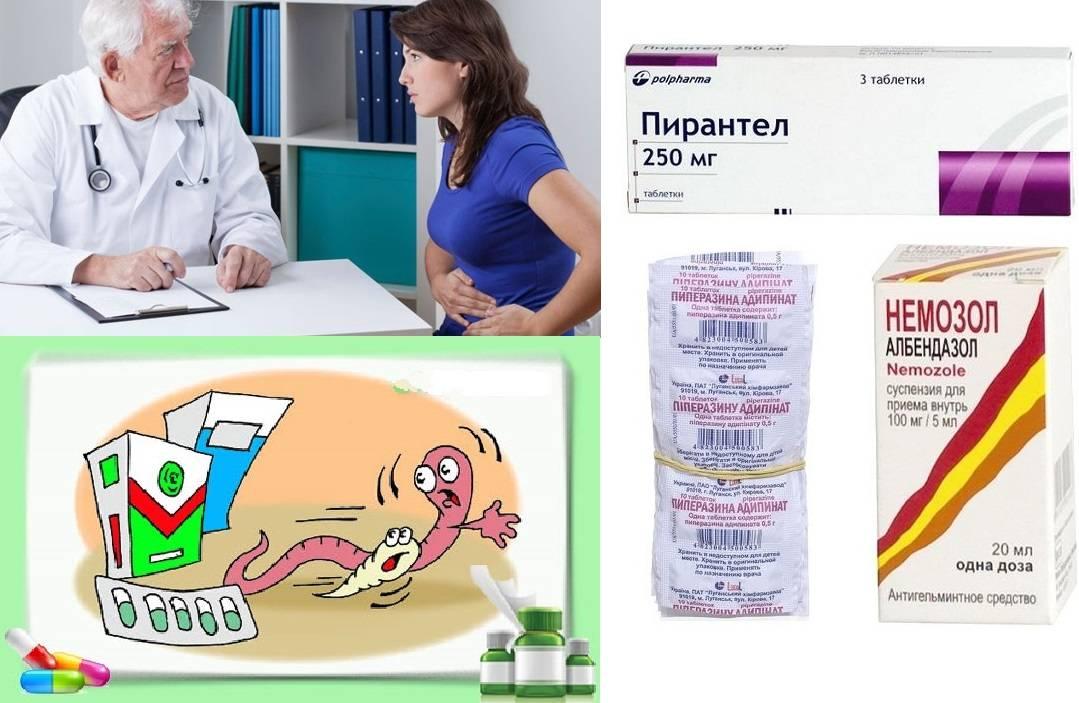 Таблетки от остриц для ребенка или взрослого - самые эффективные препараты с отзывами и ценами