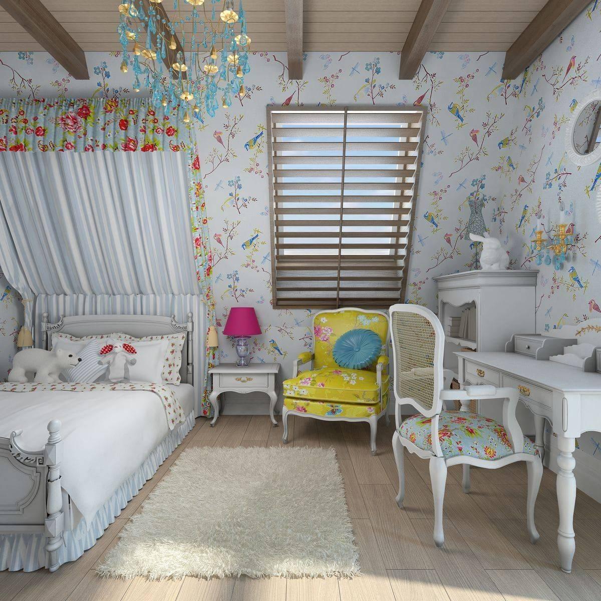 Лучшие идеи для дизайна интерьера спальни в стиле прованс, правила оформления