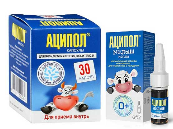 «аципол» для лечения детей до года и старше: инструкция по применению и аналоги препарата