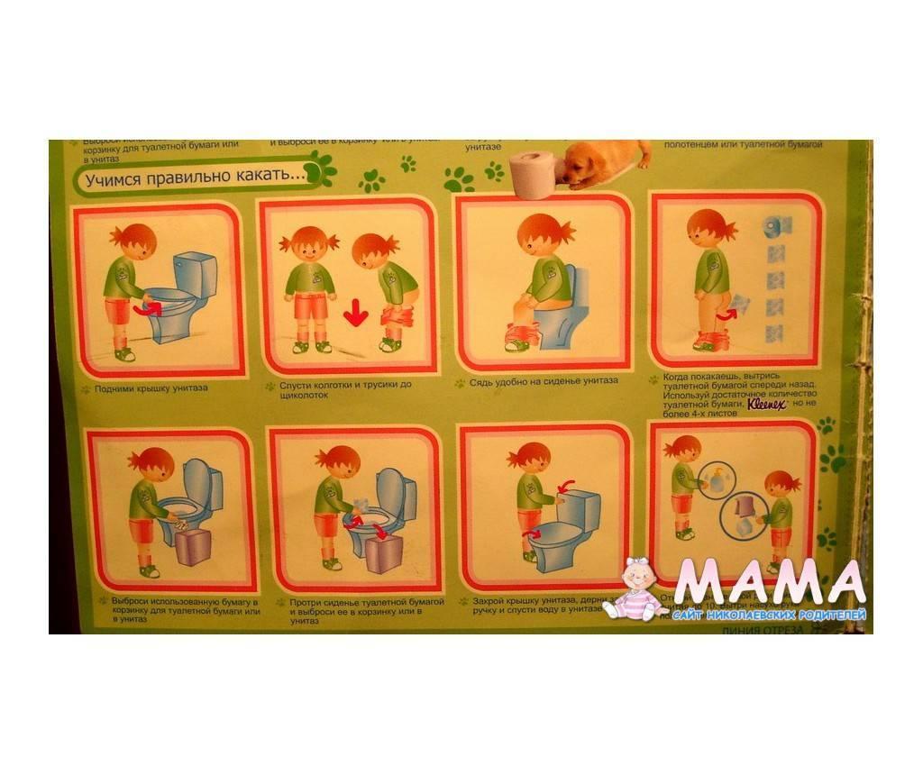 Как научить ребенка самостоятельно вытирать попу— советы и инструкции