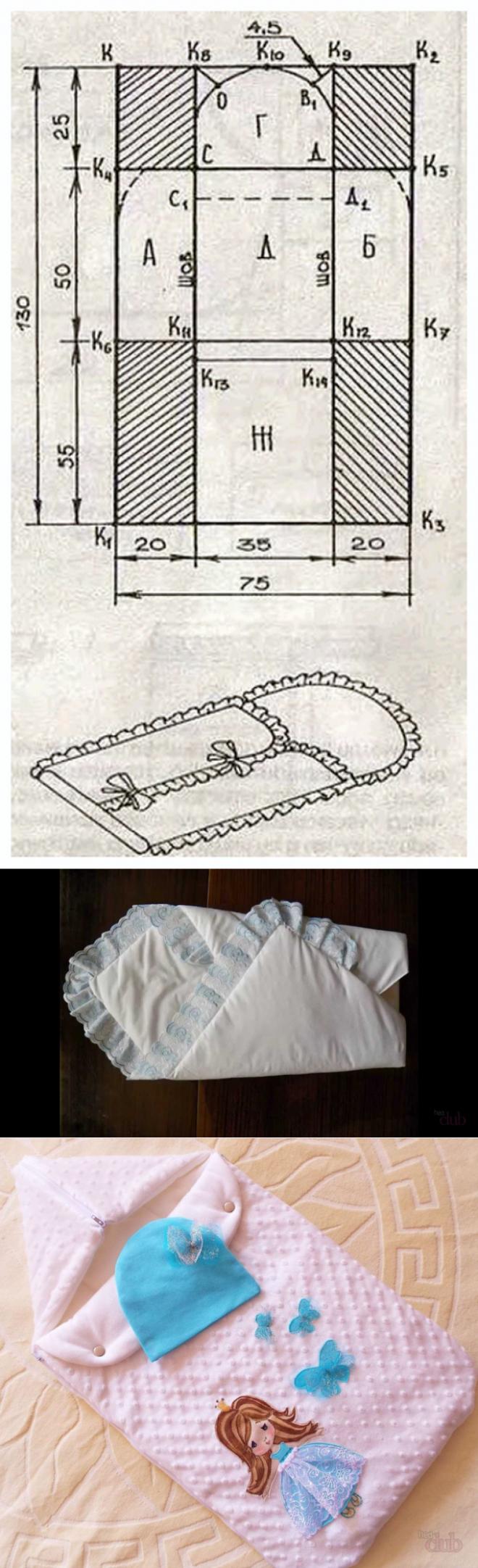 Конверт на выписку своими руками: пошаговые инструкции