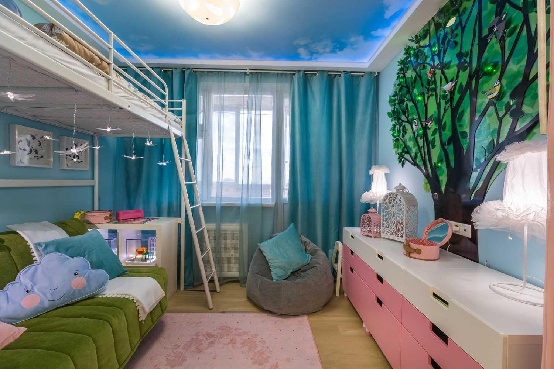 Детская 8 кв. м.: обзор самых грамотных решений и вариантов оформления детской комнаты
