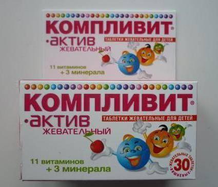 Витамины компливит для детей: инструкция по применению