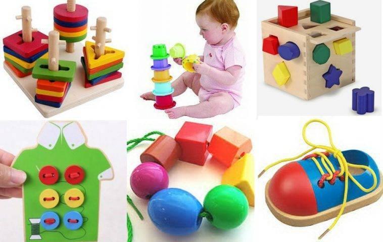 Какие игрушки нужны ребёнку в 10 месяцев