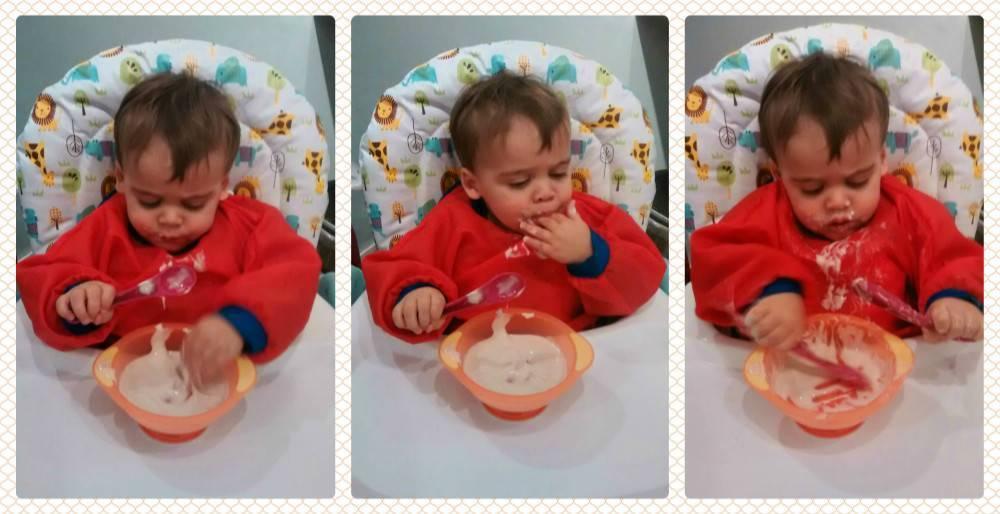 Когда ребенок начинает кушать самостоятельно