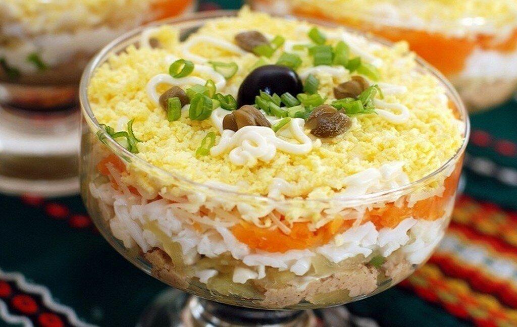 Рецепты салатов на день рождения: хороши к праздничному столу