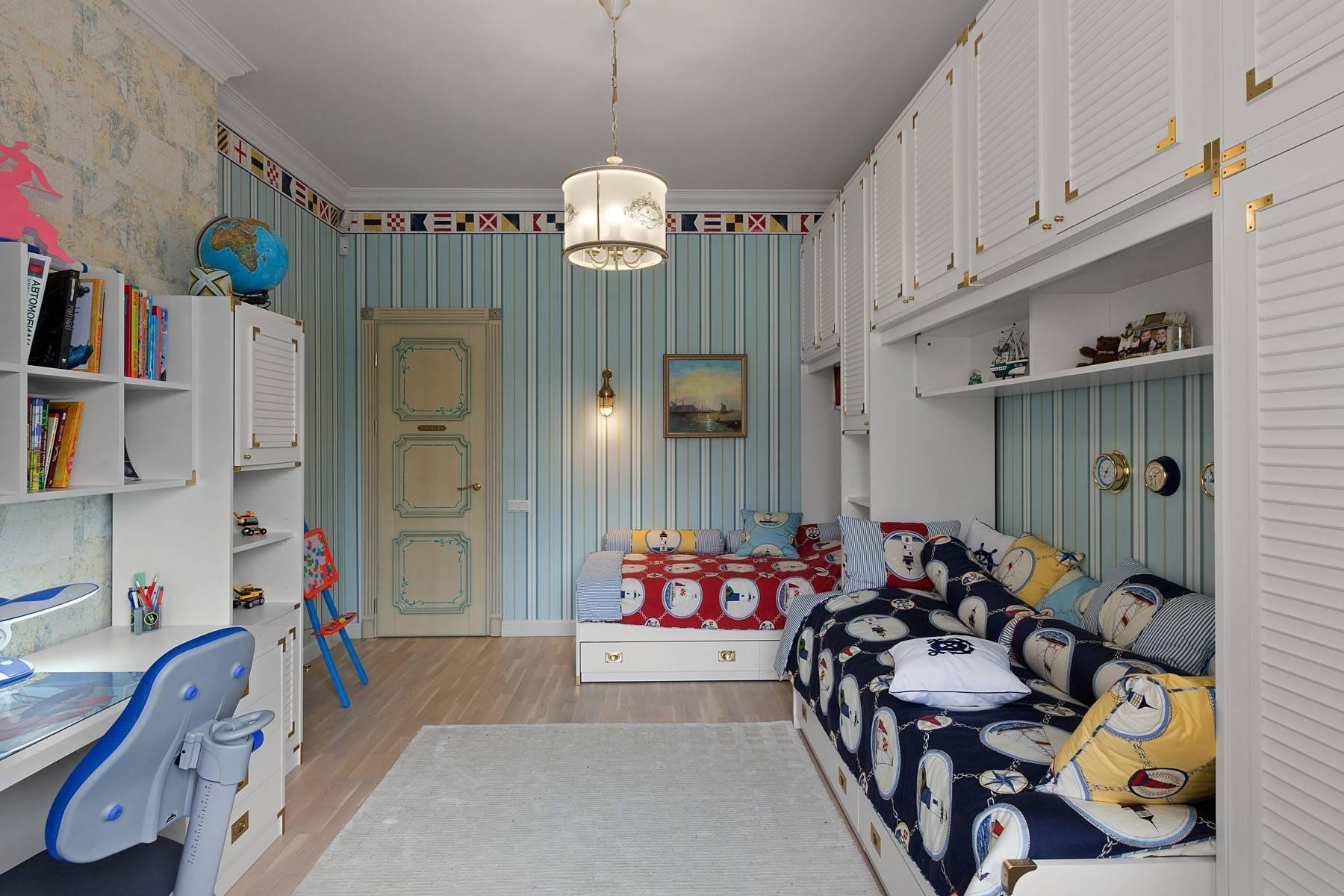 Интересный дизайн детской комнаты для мальчика разного возраста: фото, идеи