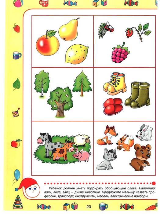 Развитие мышления детей четырех-пяти лет