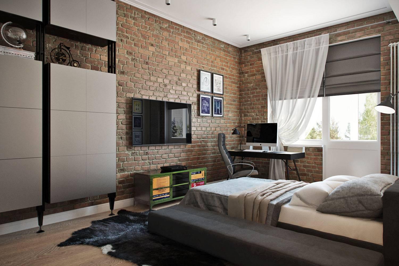 Комната для подростка-мальчика: 72 идеи интерьера спальни в современном стиле   salon
