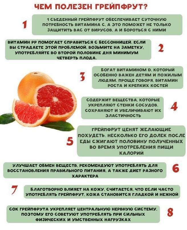 Польза и вред грейпфрутового сока, как правильно пить