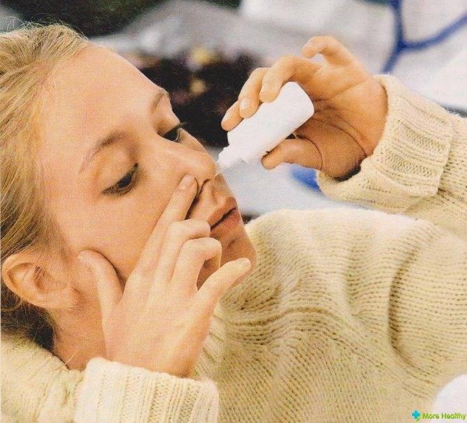 Чем лечить насморк при грудном вскармливании: капли в нос при лактации маме