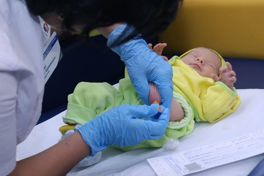 Анализ крови в роддоме на генетические заболевания у новорожденных
