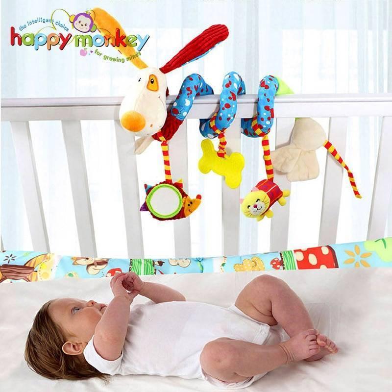 Развивающие игрушки месячному ребенку. когда новорожденному можно дать погремушку, во сколько месяцев ребенок начинает ее держать? примеры развивающих игрушек