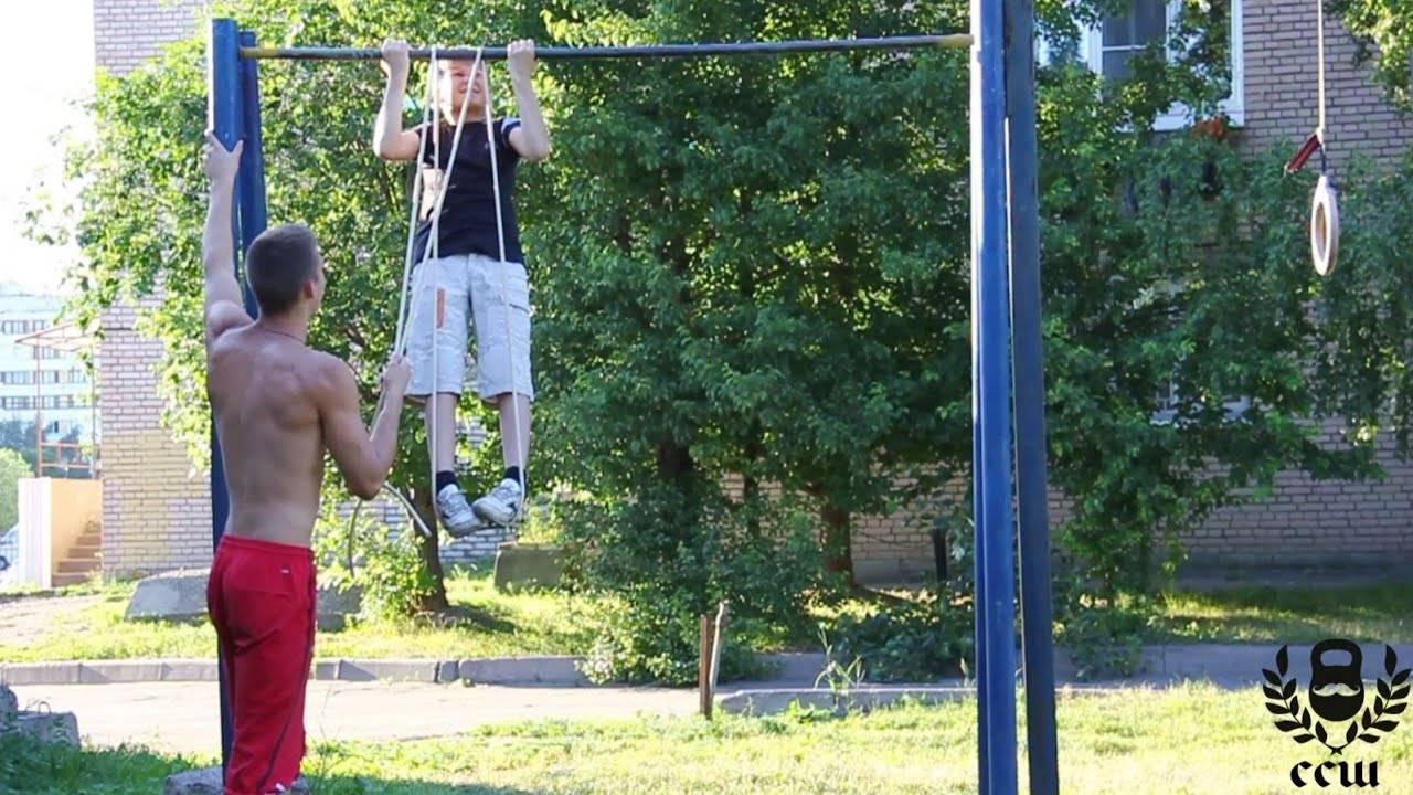 Как научить ребенка подтягиваться? (комплекс упражнений) | antiloh.info