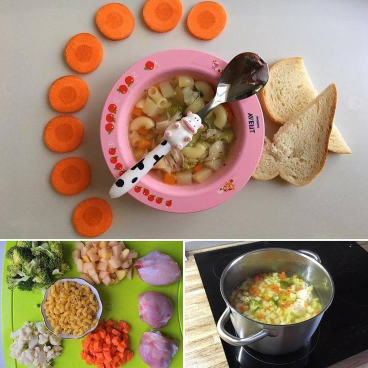 Меню для ребенка 3 лет на неделю с рецептами: рацион питания до 7 лет