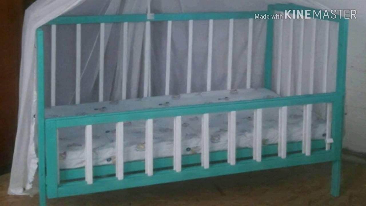 Как покрасить деревянную кровать?