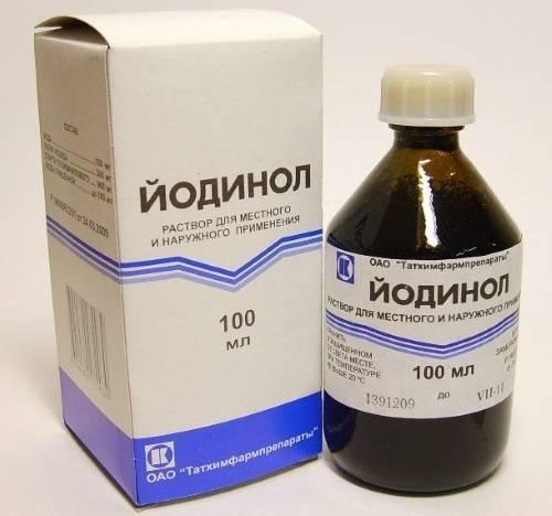 Йодинол: инструкция по применению и от чего помогает препарат
