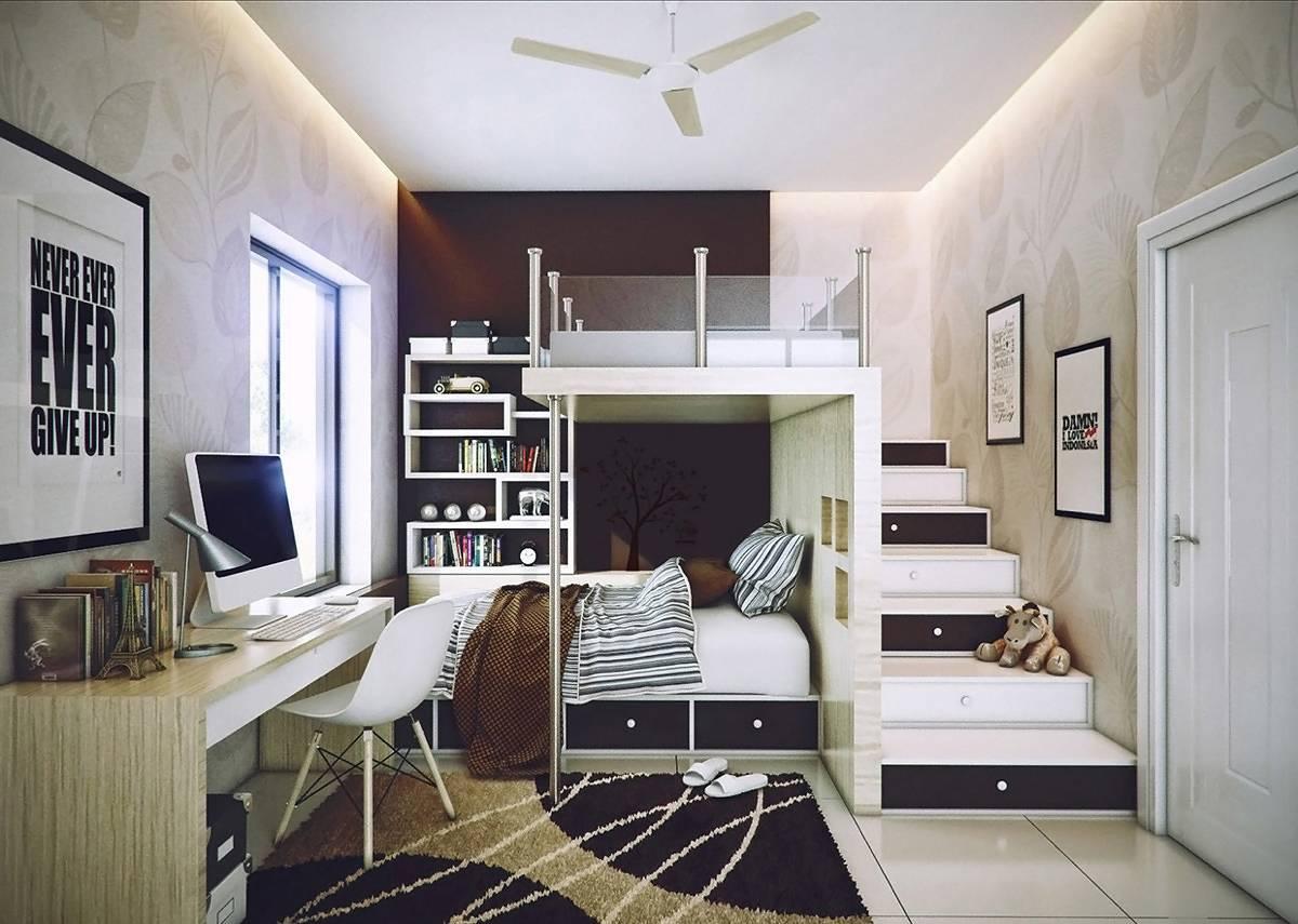 Детская комната для двоих детей: продуманный дизайн и декорирование